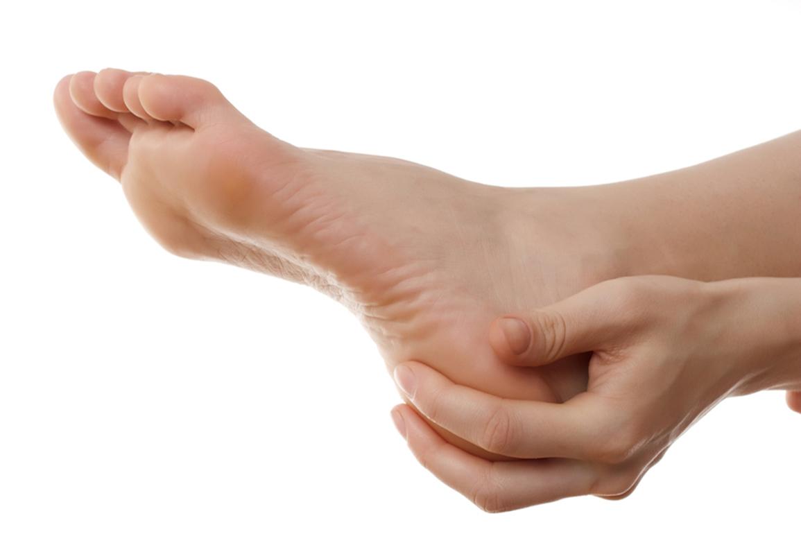 κάλοι ποδιών